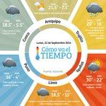 RT @MinamPeru: ASÍ ESTÁ EL TIEMPO Arequipa,Trujillo,Iquitos,Lima,Puno, Cusco #MinamTeSirve Otras localidades http://t.co/k4UwQ68Xkr http://t.co/J2DroeEMQi