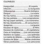 """RT @trafficVALENCIA: via @anikodemuz: """": Lista de todos los culpables ya identificados por el eficiente SEBIN http://t.co/nYWfSl19CW #Valencia"""" #Valencia"""