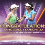 RT @WTA: Cara Black & @MirzaSania 4th doubles team to qualify for #WTAFinals--> http://t.co/pYPP94N7FJ #WTA #tennis http://t.co/pLucCE1fGk
