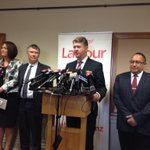 David Cunliffe arrives, introduces new and returning MPs http://t.co/YPSNbU9P3g