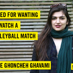 #Iran: Ghoncheh Ghavami is in prison for wanting to watch volleyball. Demand her release: http://t.co/OqleKkpwoz http://t.co/K5qZnBupcD