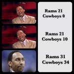 """""""@ESPN_FirstTake: Stephen A. watching the @dallascowboys game yesterday...(via @lilrichard903) http://t.co/uIcOz7sUAH"""" HA! HA!"""