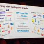RT @Randy_Cairns: We love the #WCM #DAM markets. #HPTeamsite powers 10,000 websites #HPMediaBin manages 2 billion assets #HPEngage14 http://t.co/ZiBkrW9xCN