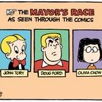 "RT @TheoMoudakis: Tomorrows @TorontoStar Cartoon: ""Comics"" #TOpoli http://t.co/kHSeGEJYAp"
