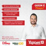 Santa Catarina Conheça o #Thiago @thiagomorastoni nosso próximo vice-governador. #VignattiGovernador http://t.co/F8ajmDagac