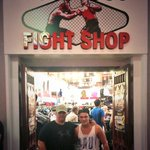 RT @JoshDevineDrums: I made sure to grab some gear in Vegas from my fav fight shop @LVFightShop! Great gear and people! :) with @M1Jarvis http://t.co/Qxgetqd1sf