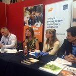 RT @M_Mercieca: Delighted to speak on a panel with @rushanaraali @CIPD & @UKYouth today about young people & skills. #lab14 #5skills http://t.co/FZXqbwPC71