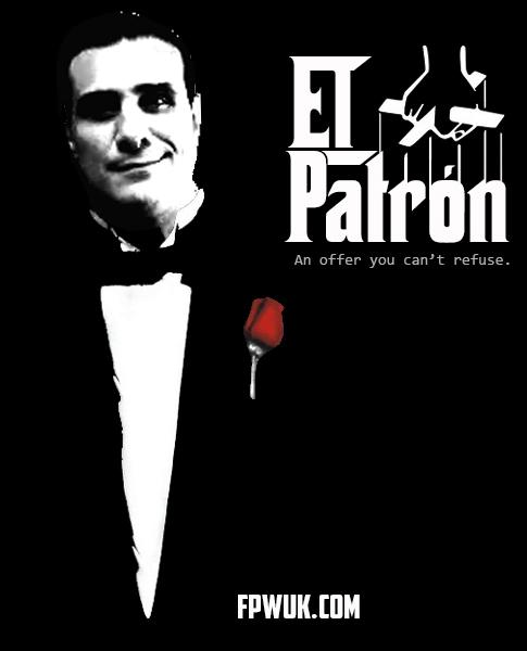 An offer you can't refuse El Patrón is coming to FPW Jingle Bell Brawl @VivaDelRio http://t.co/wCKNPm34lT http://t.co/StJqwC3ebD