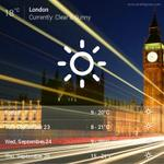 RT @pinkbigmac: Current #LondonWeather 18°C - Clear & Sunny #London http://t.co/jNrtiRBVCW http://t.co/mvCNYlI52N