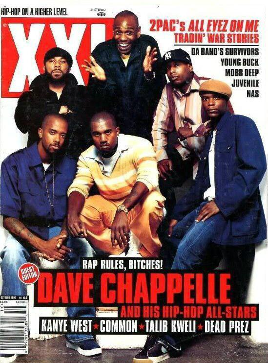 remember when Dave Chappelle was the guest editor of XXL for an issue and put these guys on the cover? that was tight http://t.co/yZehIE2yU4