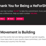 """RT @DialMforMarvel: The one time I dont mind being """"yet"""" another number, quite the contrary actually. @EmWatson @HeforShe #HeForShe http://t.co/kYcPv1eUtY"""