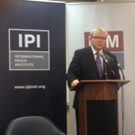 RT @ipinst: .@MrKRudd now launching our new comission on assessing global threats. http://t.co/X6UUSLv0HF