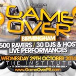 RT @TheRealJeffrey: RT @PearlyK: #GameOver was my favourite 1st year event.... #GameOver0121 destined yet to be turnt aswell ???? << http://t.co/FD62DxKZgQ