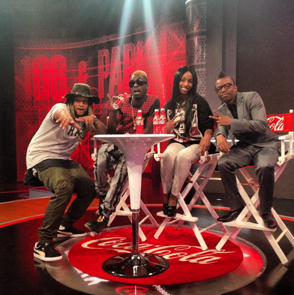 Posted at @106andpark with @AntBoogieWorld & @luamky #BET #Rej3ctz #TimeMachine http://t.co/k0xKqxJuDb