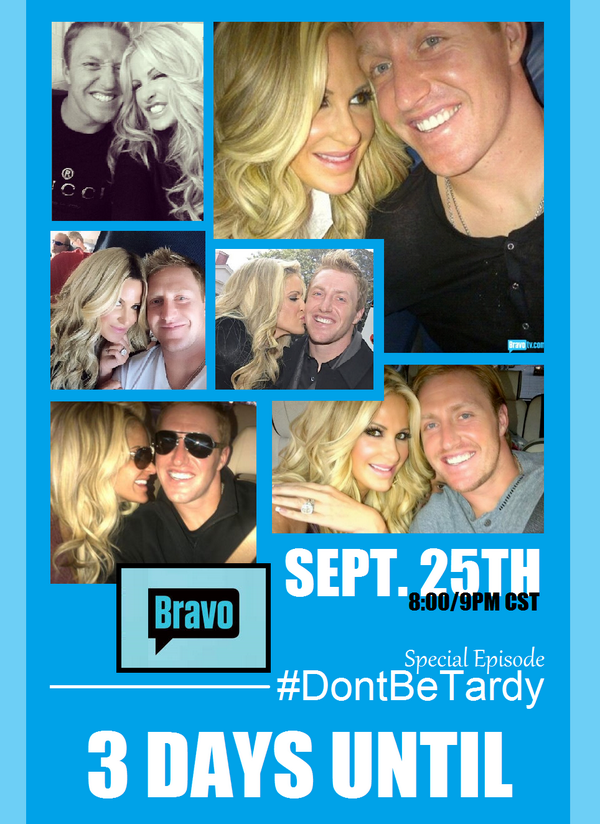 Only 3 more days til we join @KimZolciak for a special episode of #DontBeTardy! Tune into @BravoTV on Thurs. @ 8/9pm! http://t.co/ILCsi6YMAK