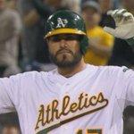 "Soto just ""Beard down"" 2 RBI single makes it 4-1 #Athletics. Starter CJ Wilson done after 2/3 IP. http://t.co/tkVT0QbwiI"