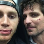 RT @10PSharp: Heck of a first game for @88PKane and @10PSharp. Thanks Dr. Terry....and the sellout crowd at the United Center! http://t.co/G8VrcUFRw4