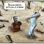 RT @nzherald: Todays cartoon by @rodemmerson: Labours decapitation http://t.co/Xq67KNdRIN http://t.co/ZBqRHQDv6E