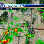 Heavy rain moving into SW #ABQ right now. Spot Areas of heavy rain through the evening. #nmwx http://t.co/LTXFfUPbg5