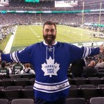 RT @MapleLeafs: Amazing RT @CorbinDuncan: Supporting the @MapleLeafs where ever I go with my @45bernier jersey on #MNF http://t.co/a5w5nnFjzS