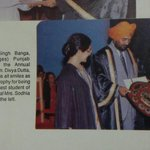 My frnd sent me this! I was adjudged t all round best student of t yr in college!...cherished moment http://t.co/YAc28hVHso