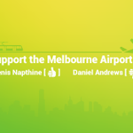 Victorians face a clear choice over the Melbourne Airport Rail Link this election #springst http://t.co/toHFOfK2t6