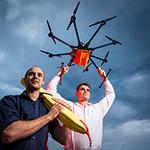 So this is cool- #UOW Phd students invent life saving drone: http://t.co/MMbPCAEW1h #innovation @UOWGC http://t.co/2ErtdjhDnN