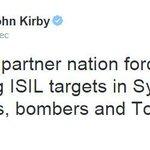 RT @bbcbrasil: Porta-voz do Pentágono confirma que EUA e aliados estão começando os ataques aéreos na Síria. http://t.co/O7fExVNOK4