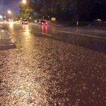RT @JacobWik_KOAT: The streets in Los Lunas were getting pounded with rain earlier tonight look at Main St. near Hwy. 314 #koat #nmwx http://t.co/tRK9jZbUvF