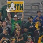 RT @brodiebrazilCSN: Sign of the night. #Athletics http://t.co/c2u1yjmMDc