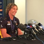 """""""Its an amazing feeling. Its a great honour."""" #Brownlow Medallist Matt Priddis http://t.co/NxDwk8AFpS"""