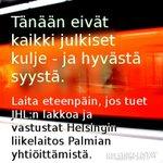 RT @helsinkilistat: SKP:n ja Helsinki-listojen valtuustoryhmä tukee #JHL:n työnseisausta. http://t.co/iCtSylVgnq http://t.co/JNlvkErZPd