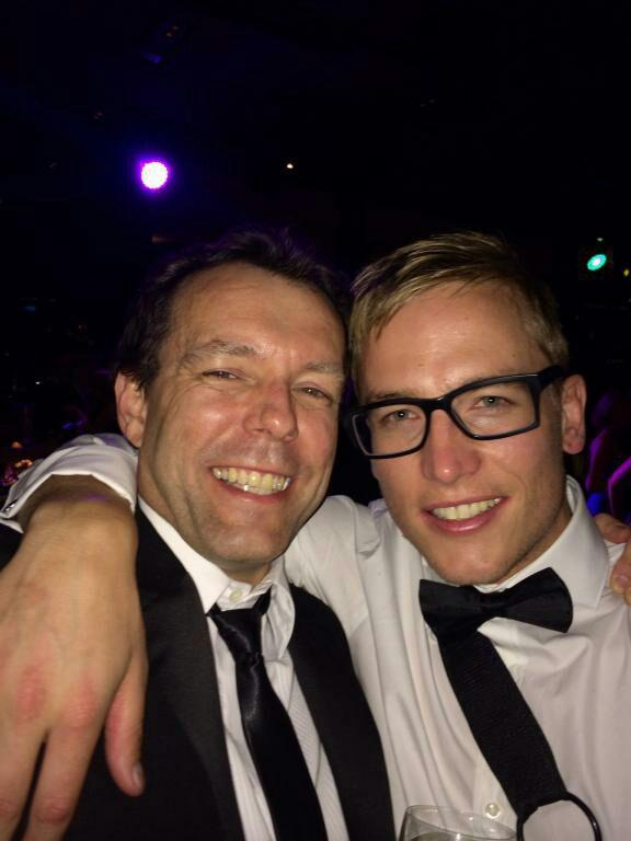 Our man Bernard found Purples glasses again at the #Brownlow http://t.co/XHev4qHR4v