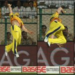 Don't. Try. This. At. Home. #CLT20 #MagicMcCullum