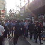 RT @hazuma: カウンターの行方を警官隊が阻む! http://t.co/FMIfwT3lh4