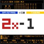 9回裏 ブランコ レフトへ第17号逆転サヨナラ2ランホームラン D2-1神 #baystars http://t.co/aKtVhm1gee