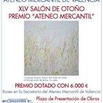 Concurso XLV Salón de Otoño - Premio Ateneo Mercantil. #arte #pintura @AteneoValencia http://t.co/9xpLtd14WW