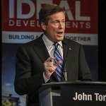 RT @TorontoStar: John Tory maintains 7-point lead in #Toronto mayoral race at 38% with Doug Ford 2nd. #TOpoli http://t.co/4DXKfViwfG http://t.co/B5Wk2H9KFz