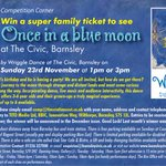 Win Tickets to @BarnsleyCivic in our October Comp #sheffieldissuper #barnsleyisbrill #win #prizes #Huddersfield http://t.co/pmKZJfaodQ