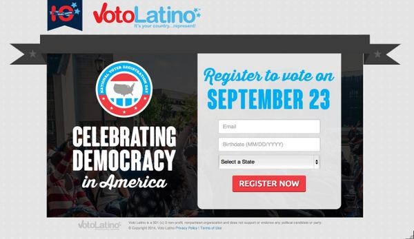 National Voter Registration Day is Today! Not registered?