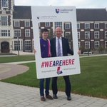 VC Bob and @President_LSU are ready to welcome #LSUFreshers14 on campus! #WEAREHERE #inspiringwinners http://t.co/DdPzhiMvbM