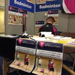 Come down to the badminton freshers fair today and sign up! #EnoughPosters @NTUStudentNews @NTUSport http://t.co/riTJjgHKNg