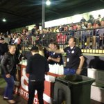 RT @MattyHeraldSun: Bourbon and coke sales going nuts pitchside at Knights Stadium before #FFACup game between St Albans and Perth http://t.co/ldlkExirpH