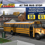 My kids wait till its in the 30s, but your kids may want the jacket this morning. #ncwx http://t.co/ySETUoDbOe
