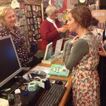 Former bookseller turned best-selling novelist Brooke Davis @thisisbrooked gets behind the counter at @macleanbooks http://t.co/t5whfjb3aT