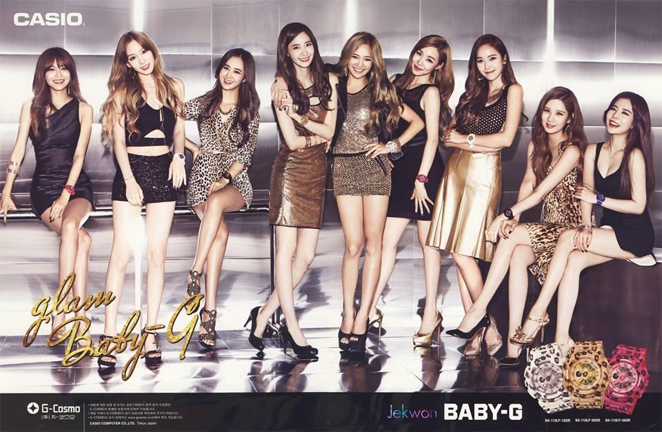 SNSD Casio Glam Baby-G, (15P) HQ http://t.co/5cFPYC2Dpf