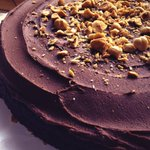 RT @psitsvegan: This double choc #vegan cake with toasted hazelnuts is at @CI_Minories garden cafe now! :D #Colchester http://t.co/7R1CqpL2oM