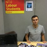 RT @NTULabour: Our Vice President @AlbertSchun manning the stall! http://t.co/jH6pAWmWjS