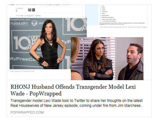 """#RHONJ Husband Offends Transgender Model Lexi Wade"" (via @PopWrapped) http://t.co/Krc8A8ALyb http://t.co/gSVIK4a2wB"