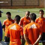 RT @valenciacf: El equipo valencianista ya piensa en el compromiso liguero del próximo jueves ante el Córdoba CF http://t.co/vZz7hka5Bs